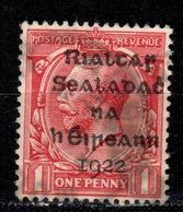 IRL+ Irland 1922 Mi 2 Aufdruck - 1922-37 Stato Libero D'Irlanda