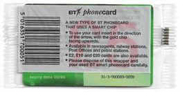 UK - BT - BCF - BETA Trial Card 5£, TRL020Ab - GPT2 Chip, Exp. 09.96, NSB - BT Test & Essais