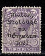 IRL+ Irland 1922 Mi 4 Aufdruck - 1922-37 Stato Libero D'Irlanda