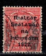 IRL+ Irland 1922 Mi 13 Aufdruck - 1922-37 Stato Libero D'Irlanda