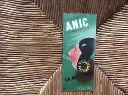 MARQUE-PAGES CAISSE AUTONOME D'AMORTISSEMENT  Cigarettes Anic  SEITA - Bookmarks