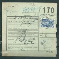 Fragment Met Stempel Marchin - Railway