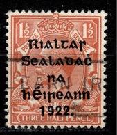IRL+ Irland 1922 Mi 14 Aufdruck - 1922-37 Stato Libero D'Irlanda