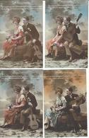 ROTO = Amoureux 6 Cartes - Couple   N°5040 - Couples
