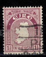 IRL+ Irland 1922 Mi 42-43 Landkarte - 1922-37 Stato Libero D'Irlanda