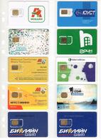 Russia & Surroundings - Small Sim-cards Collection - Russia