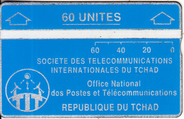 CHAD(L&G) - Telecom Logo Blue 60 Units, CN : 903C, Tirage 10000, Used - Chad