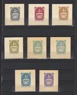 ++ 1966 Kirgizia 4 Kop Nominal In Different Colour Thick Paper Colour Proof - Essais & Réimpressions
