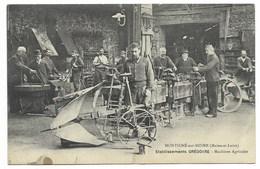 49-MONTIGNE-SUR-MOINE-Etablissements GREGOIRE - Machines Agricoles...  Animé - Autres Communes