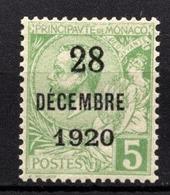 MONACO 1919 / 1921 -  Y.T. N° 48  -  NEUF** /1 - Monaco