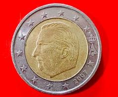 BELGIO - 2007 - Moneta - Effige Del Re Alberto II Del Belgio - Euro - 2.00 - Belgio