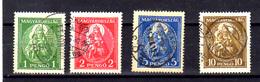 Hongrie 1932, Madone Et L'Enfant, 445/448 Ob, Cote 75 €, - Usado