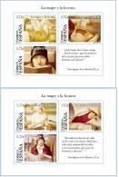 ESPAÑA 2004 - LA MUJER Y LA LECTURA - Edifil Nº 4060-4061 - Yvert Blocks 132-133 - 1931-Hoy: 2ª República - ... Juan Carlos I
