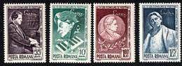 "Romania. 1964 International Music Competition ""George Enescu"". MNH - Ungebraucht"
