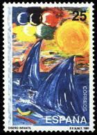 ESPAÑA 1991 - DISEÑO INFANTIL - Edifil Nº 3107 - Yvert Nº 2718 - 1931-Hoy: 2ª República - ... Juan Carlos I