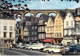 29 - MORLAIX : La Place De Viarmes ( Centre Ville - Commerces - Automobiles ) - CPSM Grand Format 1977 - Finistère - Morlaix