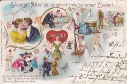 """AK Es Ist Ja """"Alles"""" Da, Es Ist Nicht Wie Bei Armen Leuten - Humor - 1899 (42362) - Humour"""