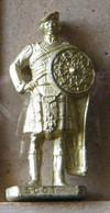 MONDOSORPRESA, (SLDN°80) KINDER FERRERO, SOLDATINI IN METALLO SCOZZESI 1743 N° 1 VARIETA SENZA NUMERO - Figurines En Métal