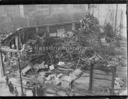 PHOTO  BELFORT 1940 INCENDIE GRAND MAGASIN (probablement GALERIES MODERNES En JANVIER) (3) - Belfort - Ciudad