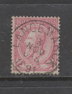 COB 46 Oblitération Centrale LANGEMARCK - 1884-1891 Léopold II