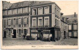 80 ROYE - La Place Saint-Florent - Roye