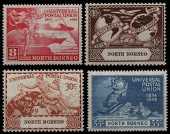 Nordborneo 1949 - Mi-Nr. 273-276 * - MH - UPU - North Borneo (...-1963)