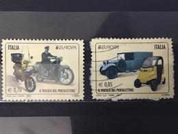 Italië / Italy - Complete Set Europa, Postvoertuigen 2013 - 1946-.. Republiek