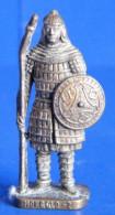 MONDOSORPRESA, (SLDN°86) KINDER FERRERO, SOLDATINI IN METALLO MONGOLI 1600 RP 1482 N° 2 - Figurines En Métal