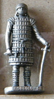 MONDOSORPRESA, (SLDN°88) KINDER FERRERO, SOLDATINI IN METALLO MONGOLI 1600 RP 1482 N° 3 - Figurines En Métal