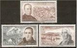 ESPAÑA 1974 - PERSONAJES ESPAÑOLES - Edifil Nº 2180-2182 - Yvert 1835-1837 - Sin Clasificación