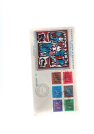 Luxembourg FDC Timbres Caritas De 1953 - FDC