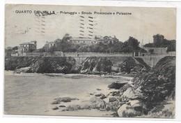 CARD QUARTO DI MILLE -PRIARUGGIA STRADA PROVINCIALE (GENOVA)-FP-V -2-   0882-29055 - Genova (Genoa)