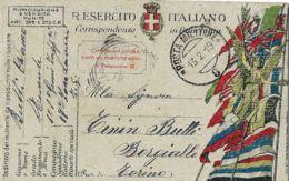 FRANCHIGIA POSTA MILITARE 8 1919 VITTORIO VENETO X BORGIALLO - Militaire Post (PM)