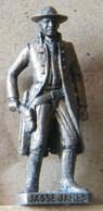 MONDOSORPRESA, (SLDN°92) KINDER FERRERO, SOLDATINI IN METALLO COWBOY 1° JASSE JAMES  VECCHIO BRUNITO E OTTONE - Metal Figurines