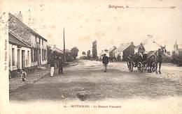 59 - Bettignies - La Douane Française (animée, Imp. E Delforge, 1913) - Other Municipalities