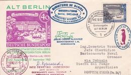 1963 COVER: AL BERLIN SONDERPOST SERIE, CIRCULEE ARGENTINE MIXED MARKS ANTARCTICA... - BLEUP - Autres