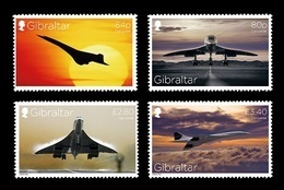 Gibraltar 2019 Mih. 1905/08 Aviation. Concorde MNH ** - Gibilterra