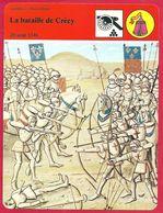 La Bataille De Crécy. Philippe VI. Édouard III. Victoire Anglaise. Guerre De Cent Ans. - History