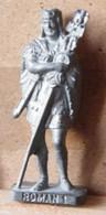 MONDOSORPRESA, (SLDN°96) KINDER FERRERO, SOLDATINI IN METALLO ROMANI 100/300 N° 1 K93 N123 FERRO - Figurines En Métal