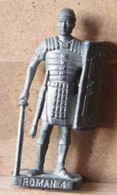 MONDOSORPRESA, (SLDN°97) KINDER FERRERO, SOLDATINI IN METALLO ROMANI 100/300 N° 4 K93 N126 FERRO - Figurines En Métal