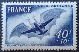 R1615/137 - 1948 - POSTE AERIENNE - PREMIER VOL DE L'AVION DE CLEMENT ADER - N°23 NEUF** - Poste Aérienne