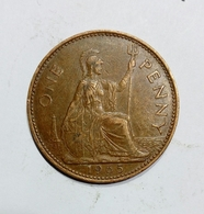 GREAT BRITAIN / GRAN BRETAGNA - One Penny ( 1965 ) Elizabeth II - 1902-1971 : Monete Post-Vittoriane