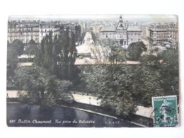CPA  75019 PARIS - Bulles Chaumont - Vue Prise Du Belvédère - Arrondissement: 19
