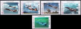Iran 2003 Stamps Air Force Fighter Aircrafts MNH - Iran