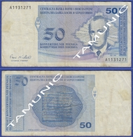 BOSNIA AND HERZEGOVINA 50 Konv.Pfeniga (1998) SKENDER KULENOVIC - Bosnia Erzegovina