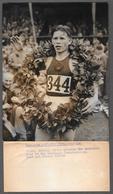 Sergei Konstantinovich Popov - Russian  -  Marathon - PHOTO CM. 15X20 - 1958 European Championships - Sport