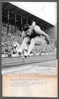Igor' Ter Ovanesjan -Ter Ovanesyan Soviet- Salto In Lungo- Long Jump Final PHOTO CM. 15X20 - 1958 European Championships - Sport