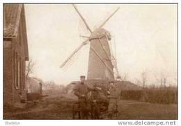 MERKSPLAS - Zondereigen (Antw.) - Molen/moulin - De Gewezen Moermolen In 1914-1918 Met Duitse Soldaten - Merksplas