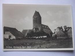 M94 Ansichtkaart Hollum Ameland - Hervormde Kerk - Ameland
