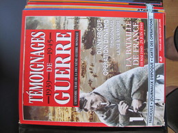 Revues :Témoignages De Guerre De 1939 à 1945- 13 Fascicules Assemblés Dans Un Classeur(1 à 13) - Revues & Journaux